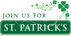 St. Patrick's Day at the Front Street Cafe, Seabrook